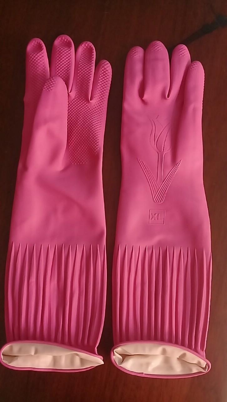 Găng tay cao su loại dài