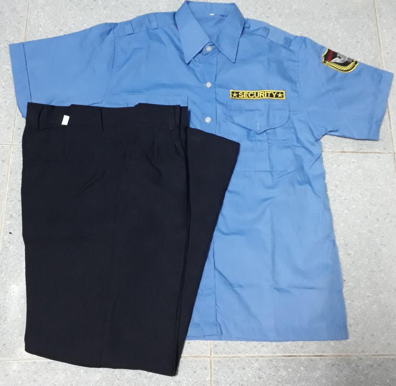 Bộ bảo vệ tay ngắn vải kaki Hàng Quốc