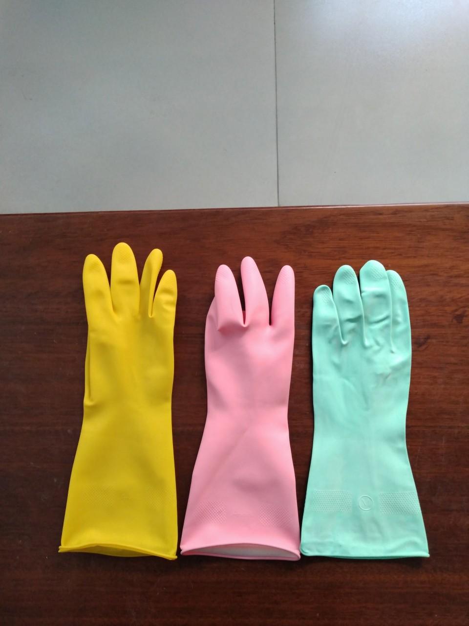 Găng tay cao su chế biến thực phẩm, công nghiệp, gia dụng