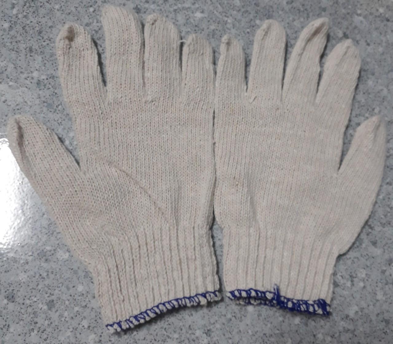 Găng tay len công nhân loại mỏng 60gr