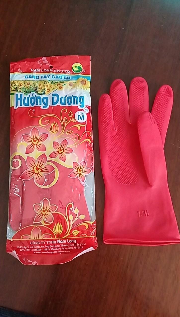 Găng tay cao su loại ngắn