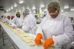 quần áo công nhân ngành chế biến thực phẩm may sẵn