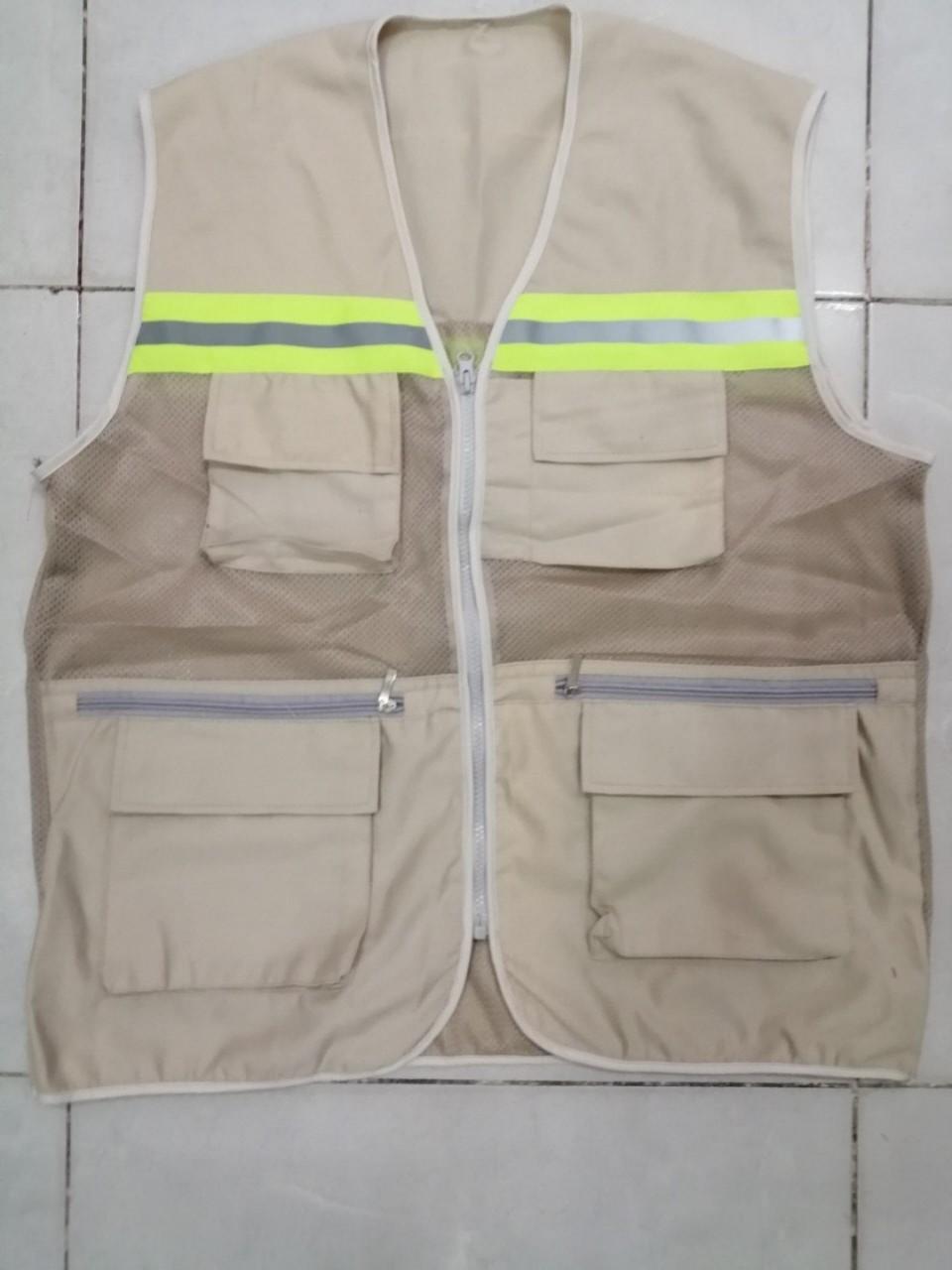 áo ghi lê kỹ sư xây dựng màu nu